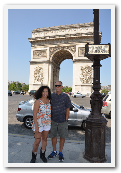 Mike and Rosy in Paris