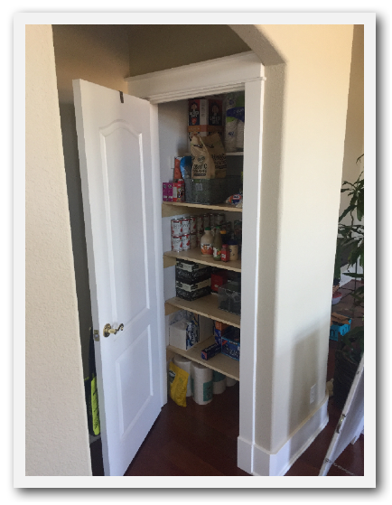 Auxiliary Pantry