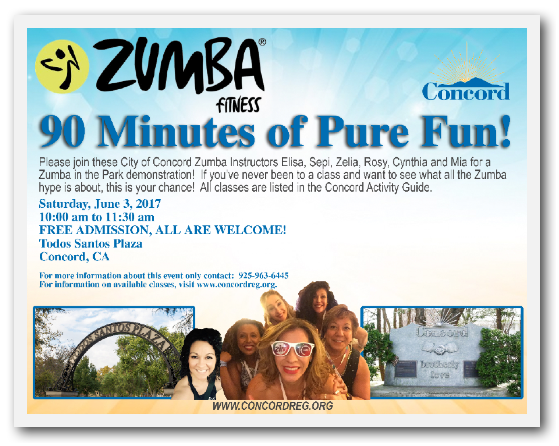 City of Concord Zumba