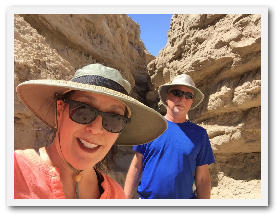 Slot Canyon, Anza Borrego